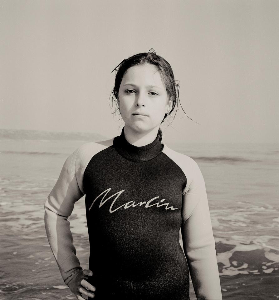 Kirsty Surfing